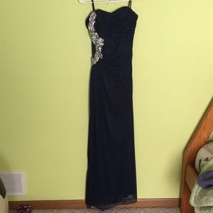 Full body length prom dress